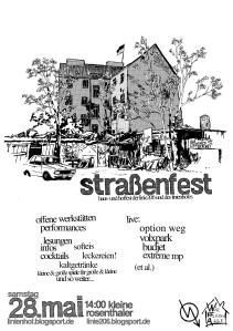 flyer – Straßenfest Linie206 – 28. Mai 2011