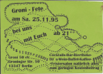 Groni-Fete 1995