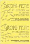 Groni-Fete 1996