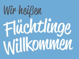"""Initiative """"Flüchtlinge willkommen"""""""