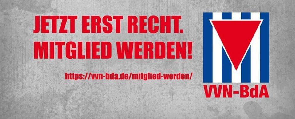 VVN-BdA: Jetzt erst recht Mitglied werden!
